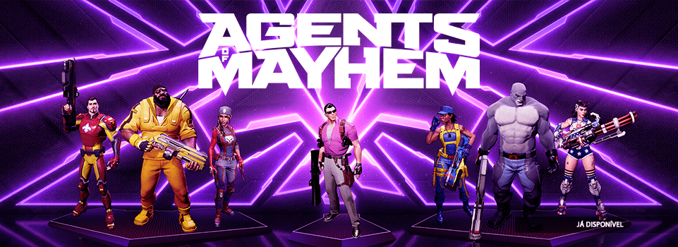Imagem do Agents of Mayhem